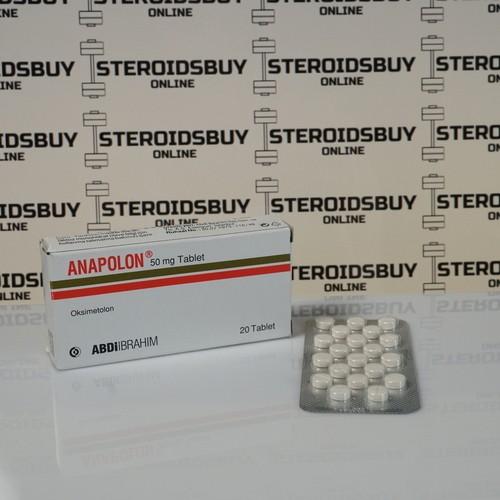 Packaging Anapolon (Oxymetholone) 50 mg Abdi Ibrahim