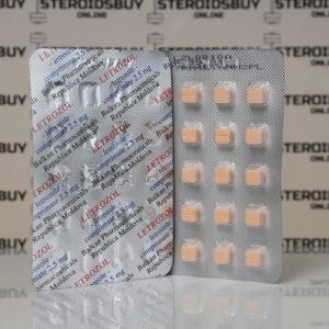 Packaging Letrozol 2,5 mg Balkan Pharmaceuticals