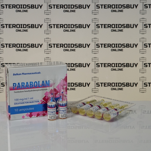 Packaging Parabolan Balkan Pharmaceuticals 100 mg
