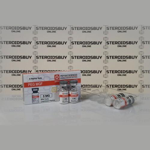 Packaging Peg MGF 5 mg Peptide Sciences