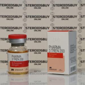 Packaging Pharma 3 Tren 200 mg Pharmacom Labs