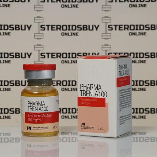 Packaging Pharma TREN А 100 mg Pharmacom Labs