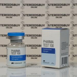 Packaging Pharma Test100 (Aquatest) 100 mg Pharmacom Labs