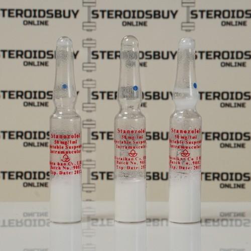 Packaging Stanozolol Injection (Winstrol) Aburaihan 50 mg