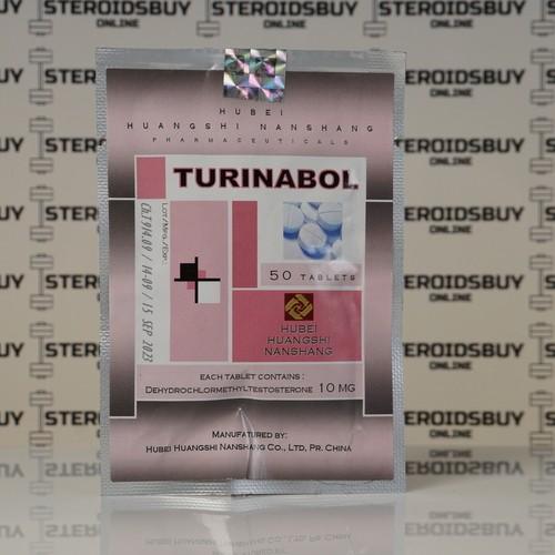 Packaging Turinabol 10 mg Hubei Huangshi Nanshang