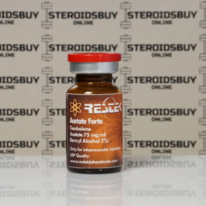 Packaging Acetate Forte 75 mg Restek Laboratories