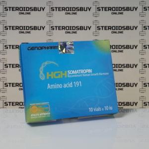 Packaging HGH Somatropin Amino acid 191 10 IU Genopharm