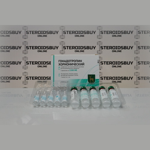 Packaging Gonadotropin corionic 1500 ME FGIP Endocrine Plant Moscow