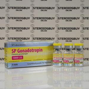 Packaging SP Gonadotropin 1000 IU SP Laboratories