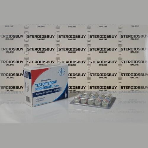 Packaging Testosterone Propionate 100 mg Euro Prime Farmaceuticals