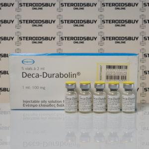 Packaging of Deca-Durabolin 100 mg Organon