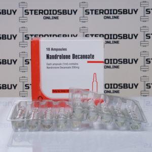 Packaging of Nandrolone Decanoate 200 mg Aburaihan