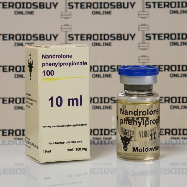 Packaging of Nandrolone Phenilpropionate 100 mg Moldavian Pharma