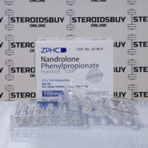 Packaging of Nandrolone Phenilpropionate 100 mg Zhengzhou
