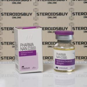 Packaging of Pharma Nan D300 300 mg Pharmacom Labs