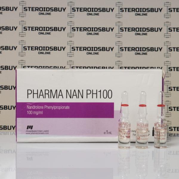Packaging of Pharma Nan PH100 100 mg Pharmacom Labs