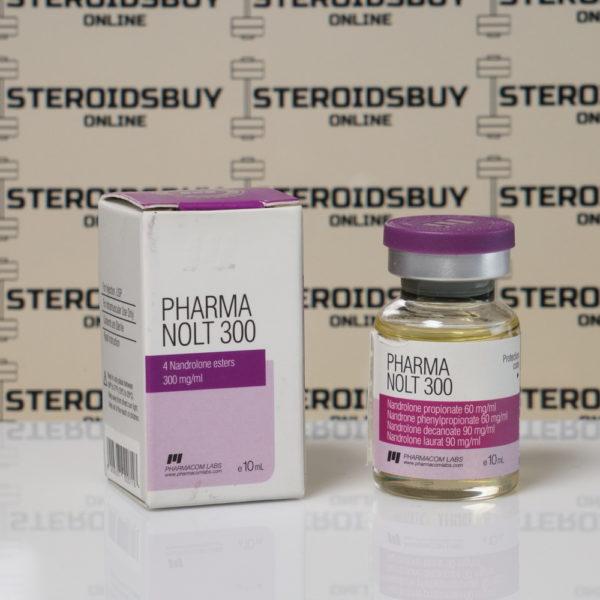 Packaging of Pharma Nolt300 300 mg Pharmacom Labs